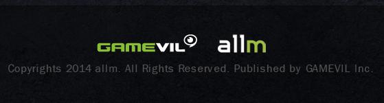 GAMEVIL / allm logo
