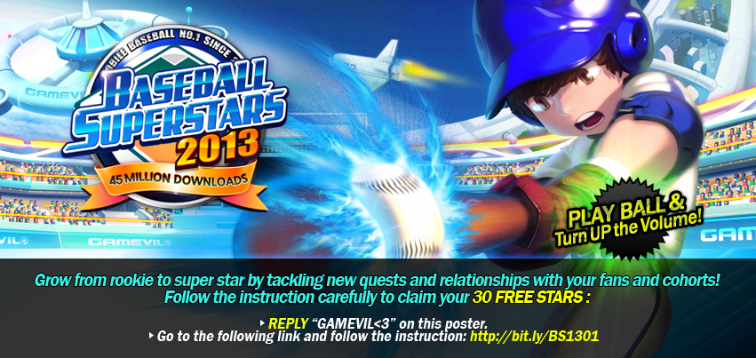 Universal Baseball Superstars® 2013 - (by GAMEVIL Inc ...