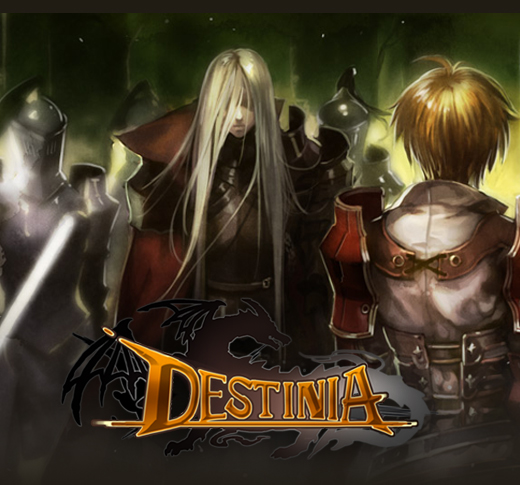 DESTINIA [game by gamevil - iOS/android] (mobile)