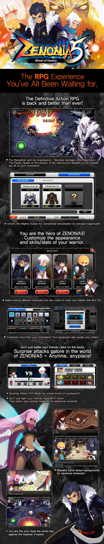 zenonia5_info Zenonia 5 - infográfico com novidades e novo vídeo com gameplay